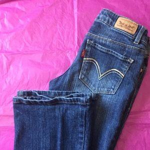 Girls Levi's skinny flare 👖 Jeans